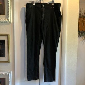 Put that sparkle in your outfit with black jeans